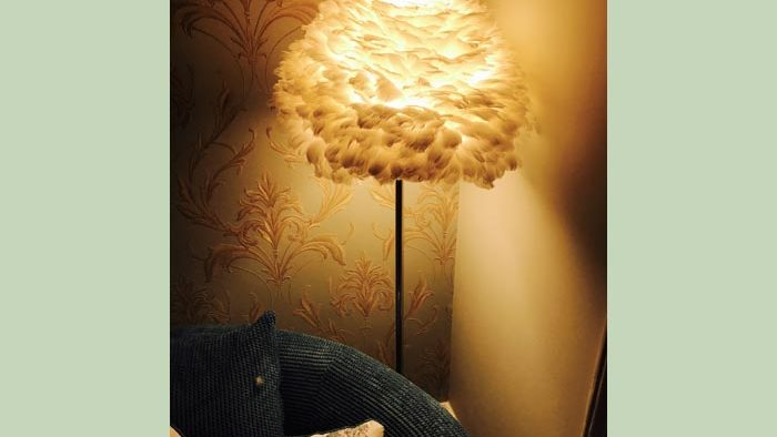 New lamp in our Meadsfoot suite
