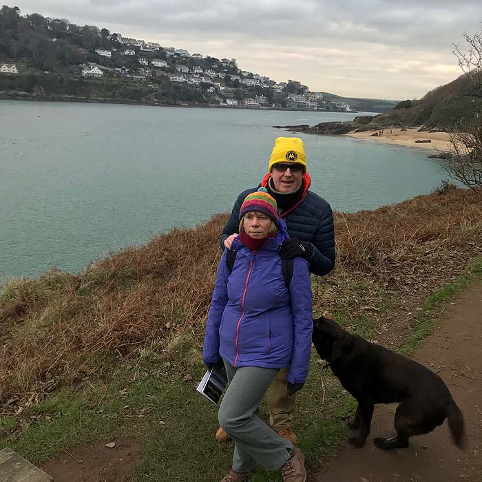 Walking in The Salcombe area, Devon, 2018-19