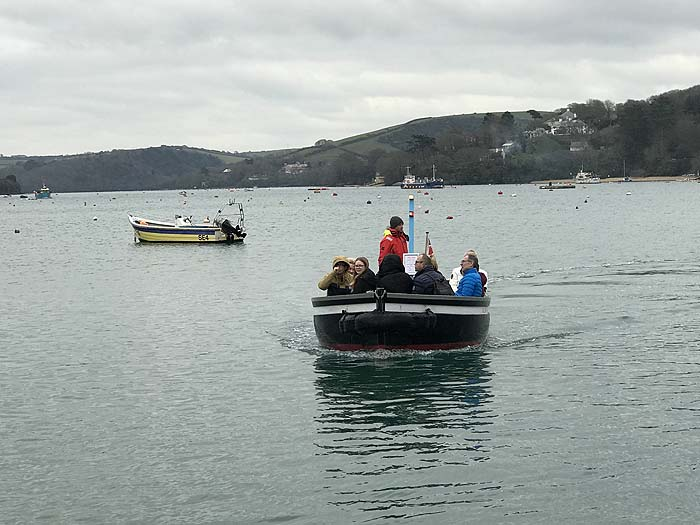 A ferry trip - part of walking in The Salcombe area, Devon