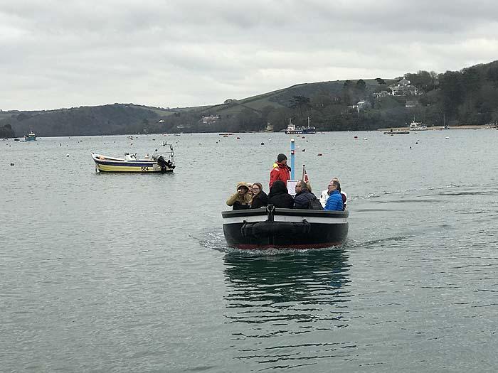 A ferry trip - part of walking in The Salcombe area, Devon