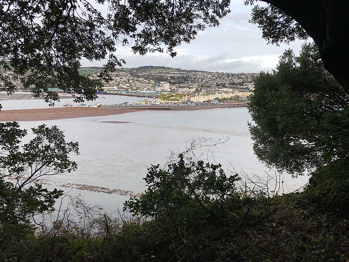A South West Coast Path walk, starting from Shaldon and heading back to Torquay