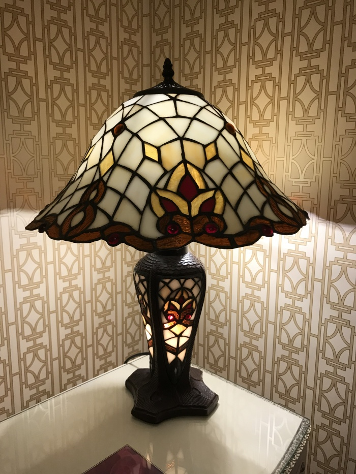 Photo: Tiffany Lamp, in the Somerville B&B's Garden Suite