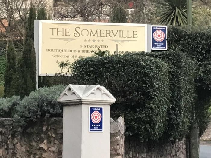 The Somerville front garden