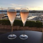 A drink with a view at No 7 Fish Bistro, Torquay. Photo by The Somerville.