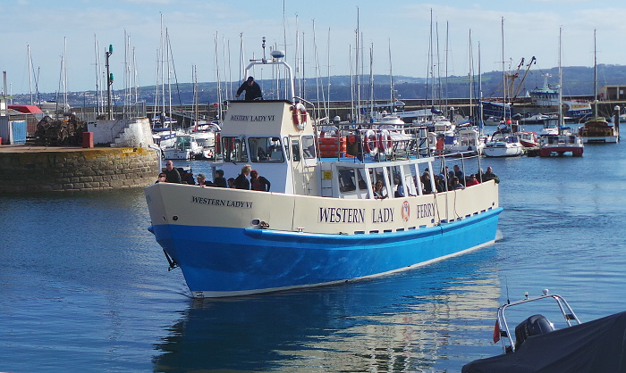 Day trips with the Western Lady Ferry in Torquay