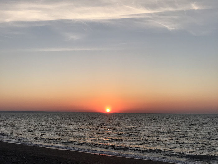 A south Devon sunrise