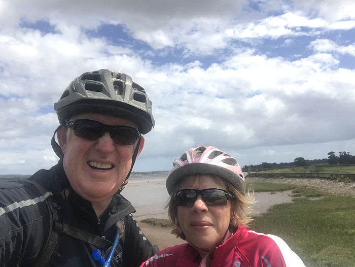 Cycling the River Exe Trail