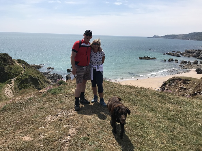 A coastal path walk to Start Point