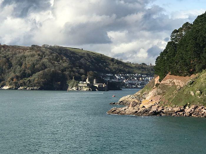 Coastal walking near Dartmouth