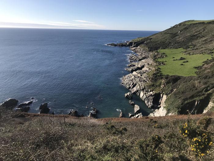 The South West Coast Path - around Noss Mayo