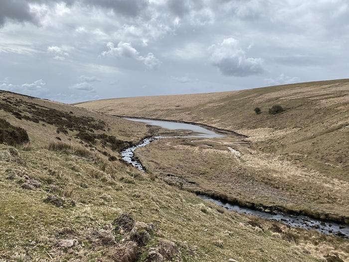 Walking to Avon Dam, Dartmoor
